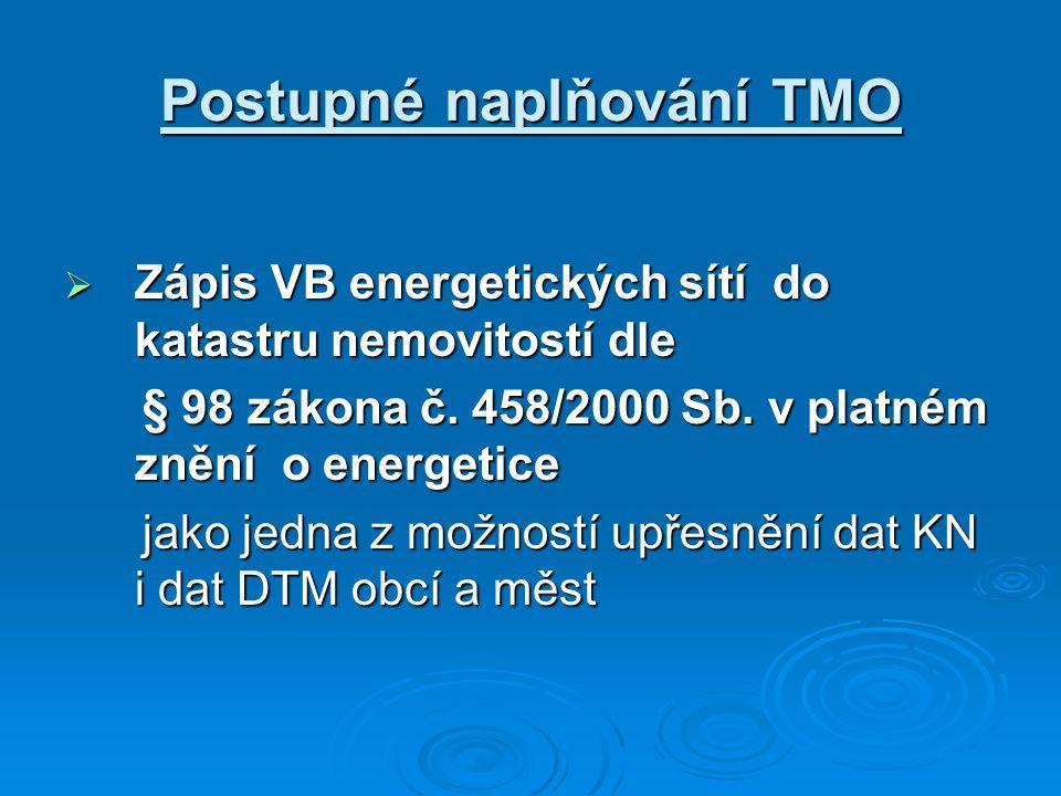 Postupné naplňování TMO