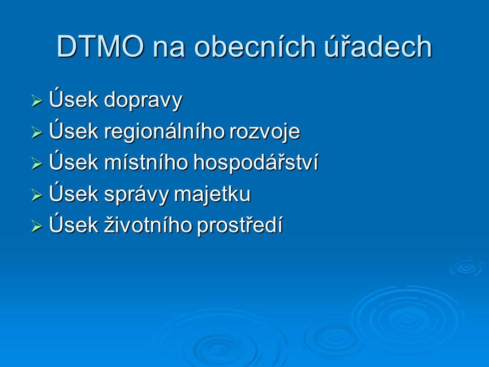 DTMO na obecních úřadech