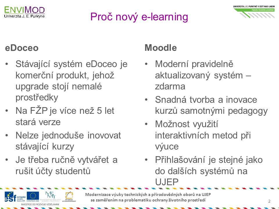 Proč nový e-learning eDoceo Moodle