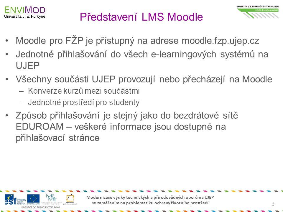 Představení LMS Moodle