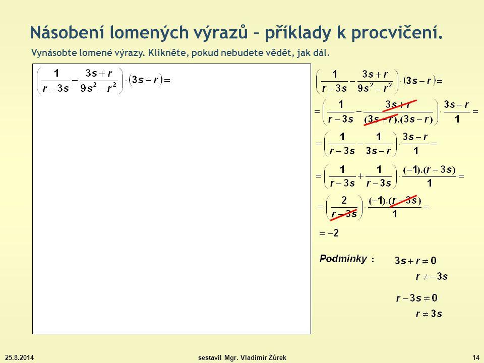 sestavil Mgr. Vladimír Žůrek