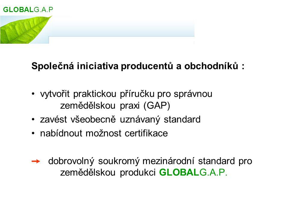 Společná iniciativa producentů a obchodníků :