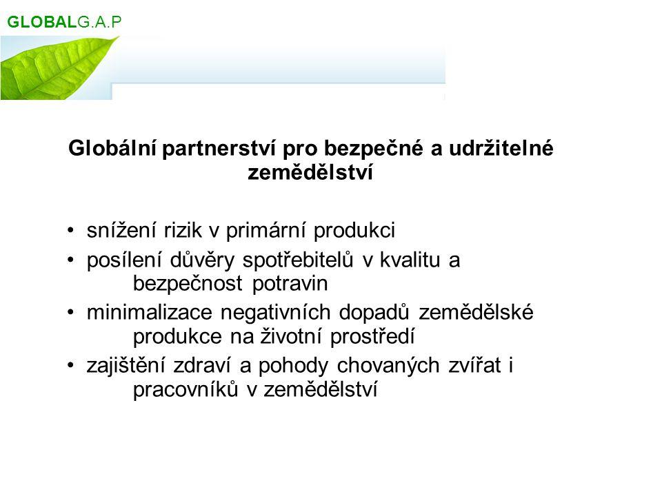 Globální partnerství pro bezpečné a udržitelné zemědělství