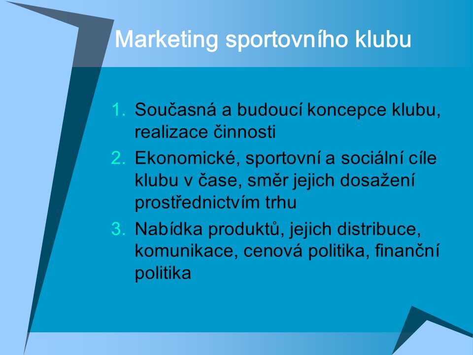 Marketing sportovního klubu