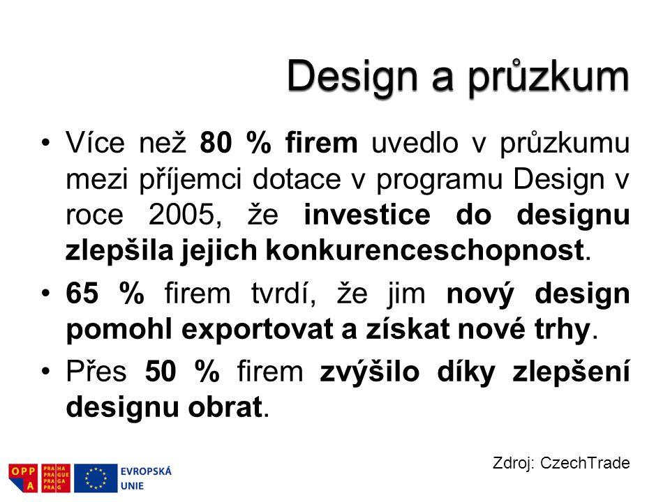 Design a průzkum