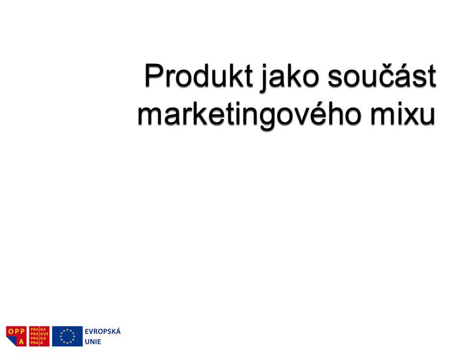 Produkt jako součást marketingového mixu