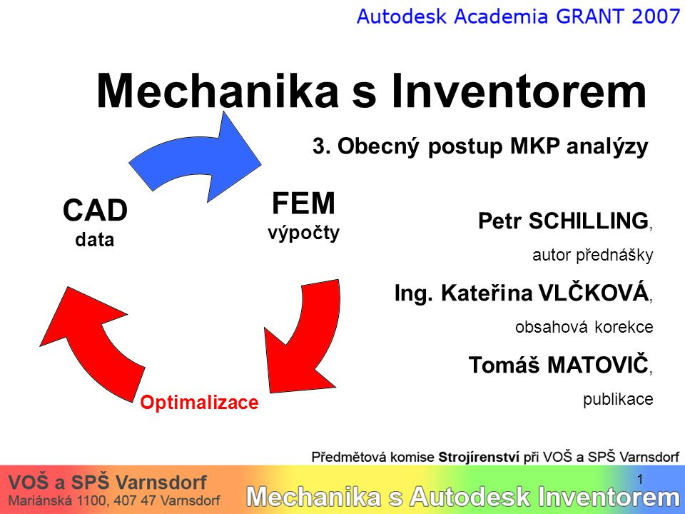 Mechanika s Inventorem