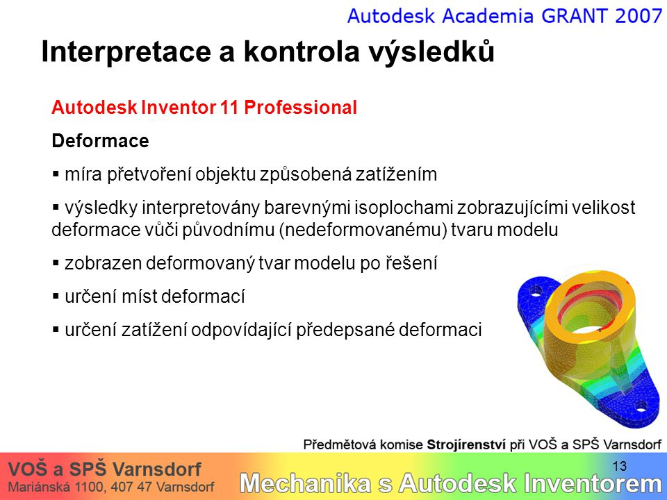 Interpretace a kontrola výsledků