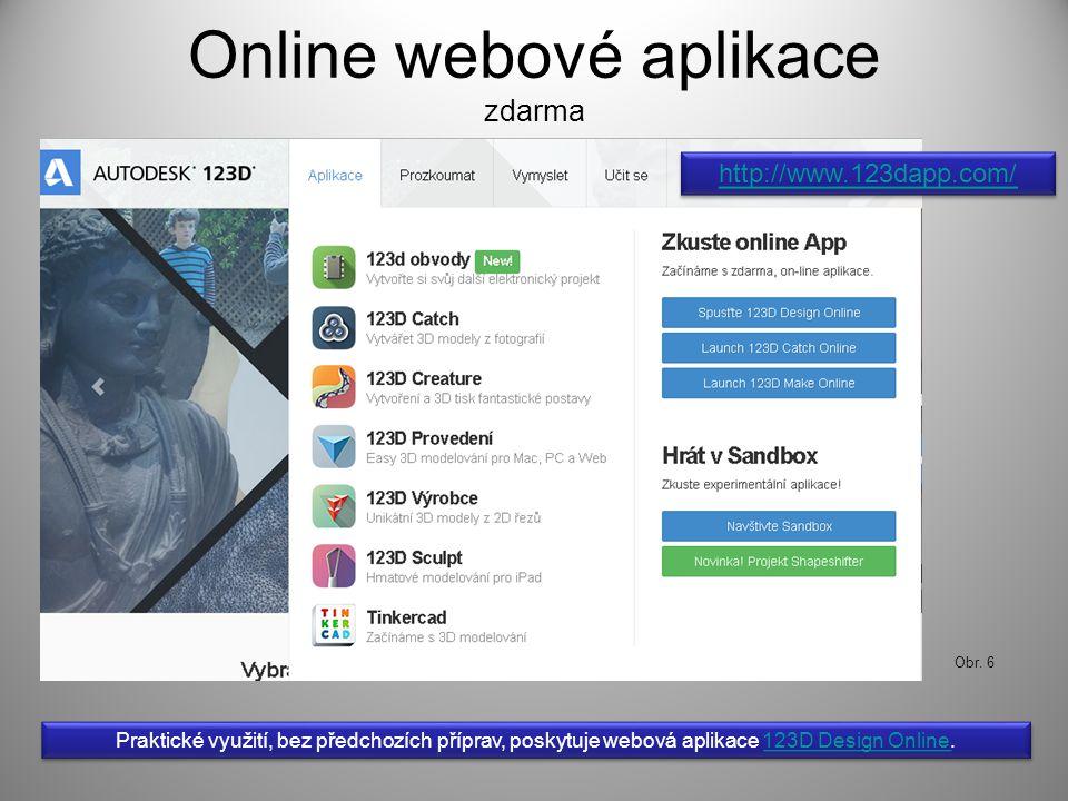 Online webové aplikace zdarma