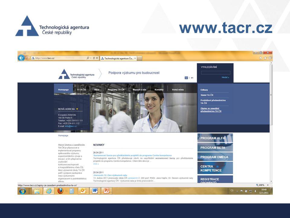 www.tacr.cz