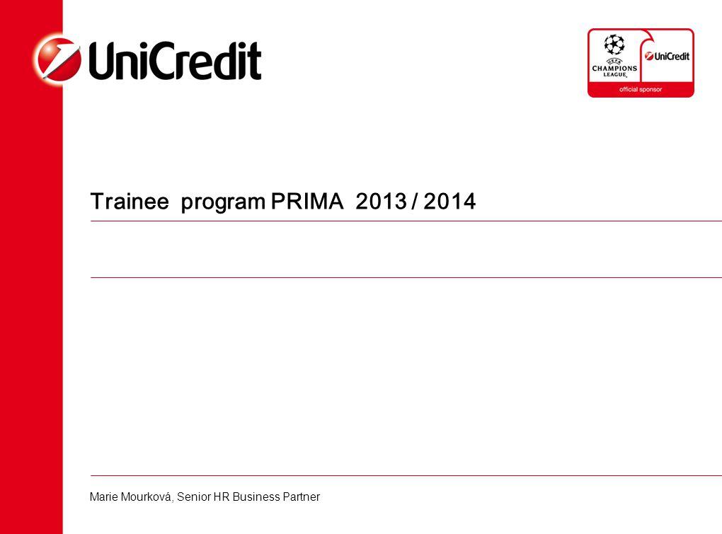 Trainee program PRIMA 2013 / 2014