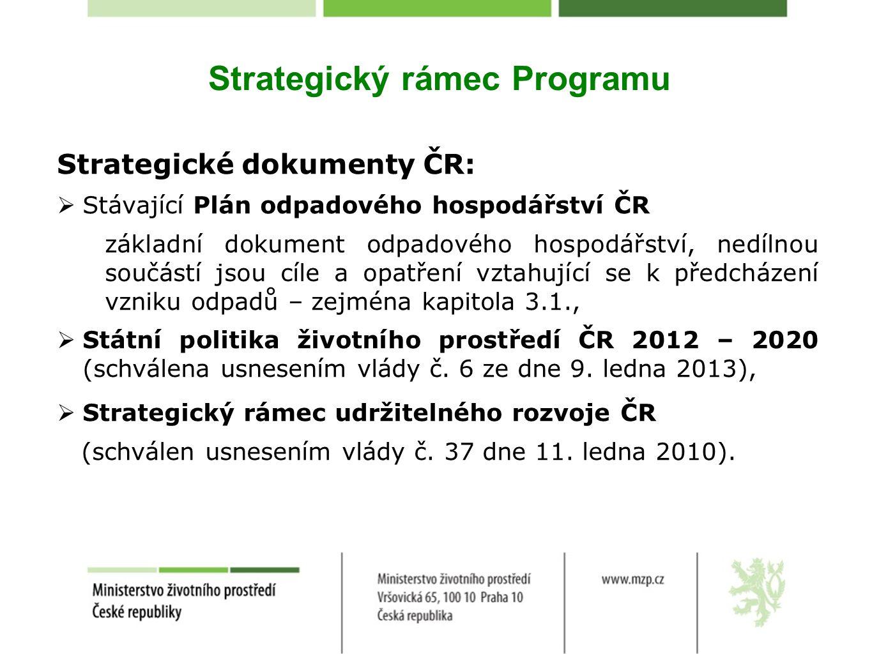 Strategický rámec Programu