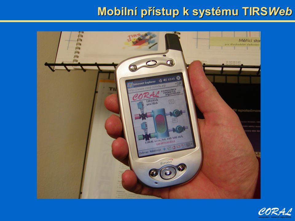 Mobilní přístup k systému TIRSWeb