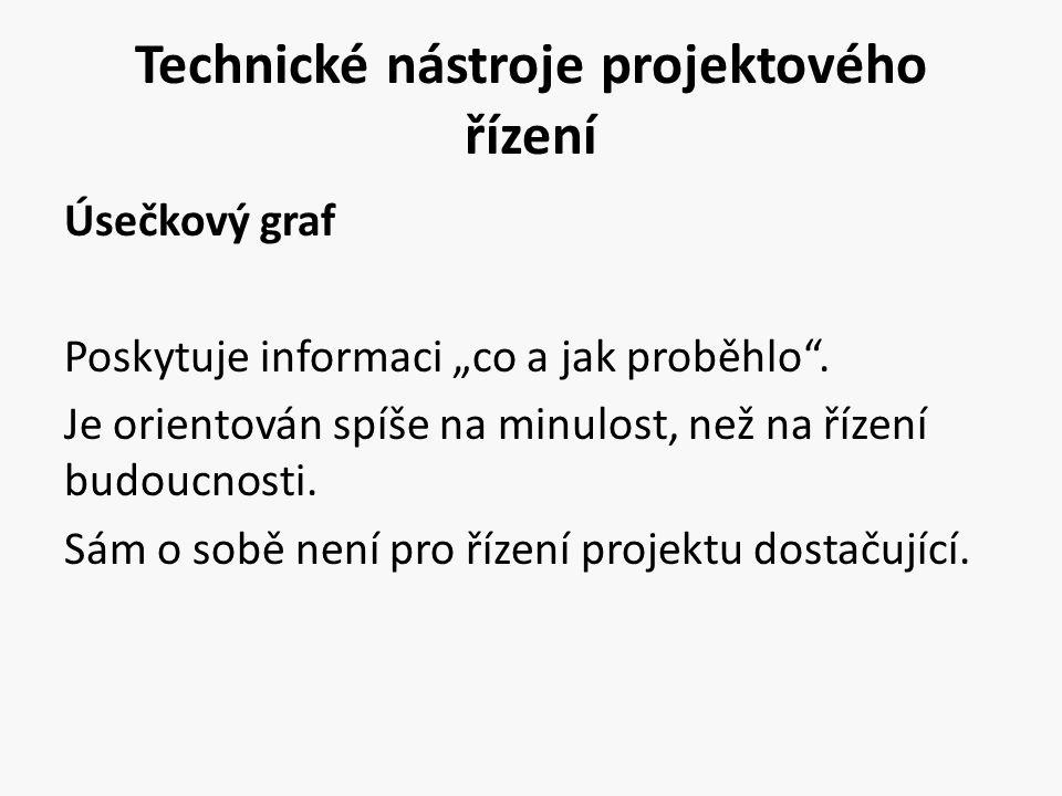 Technické nástroje projektového řízení
