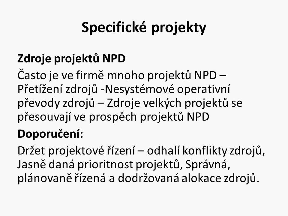 Specifické projekty