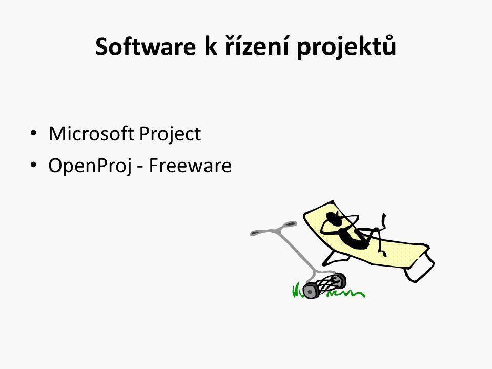 Software k řízení projektů