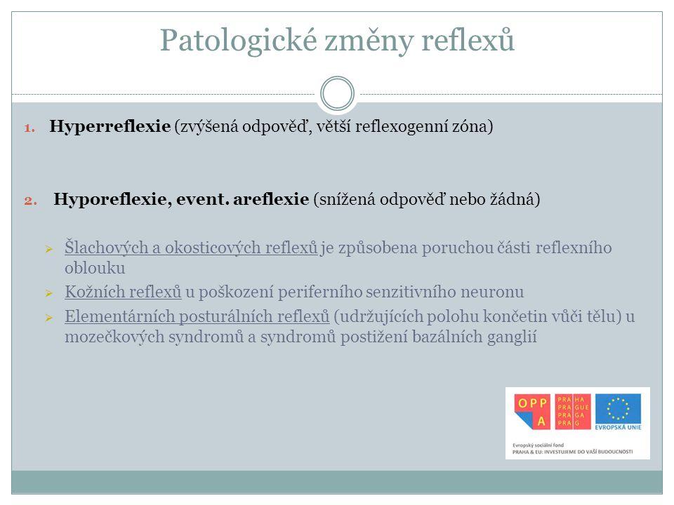 Patologické změny reflexů