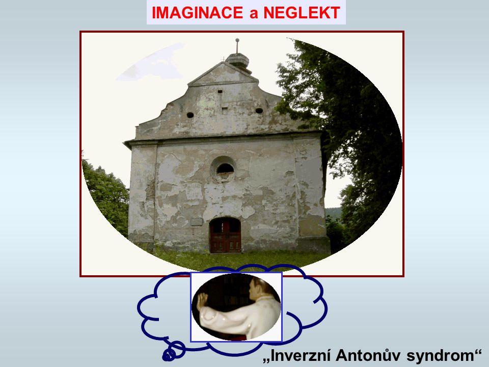"""IMAGINACE a NEGLEKT """"Inverzní Antonův syndrom"""