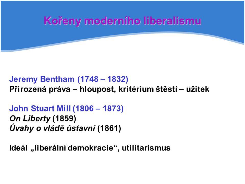 Kořeny moderního liberalismu