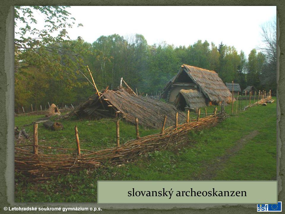 slovanský archeoskanzen