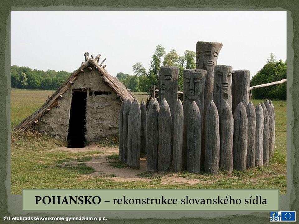 POHANSKO – rekonstrukce slovanského sídla