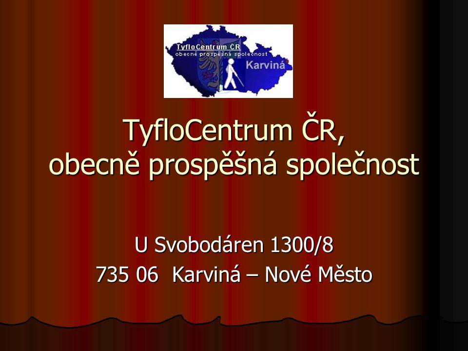 TyfloCentrum ČR, obecně prospěšná společnost