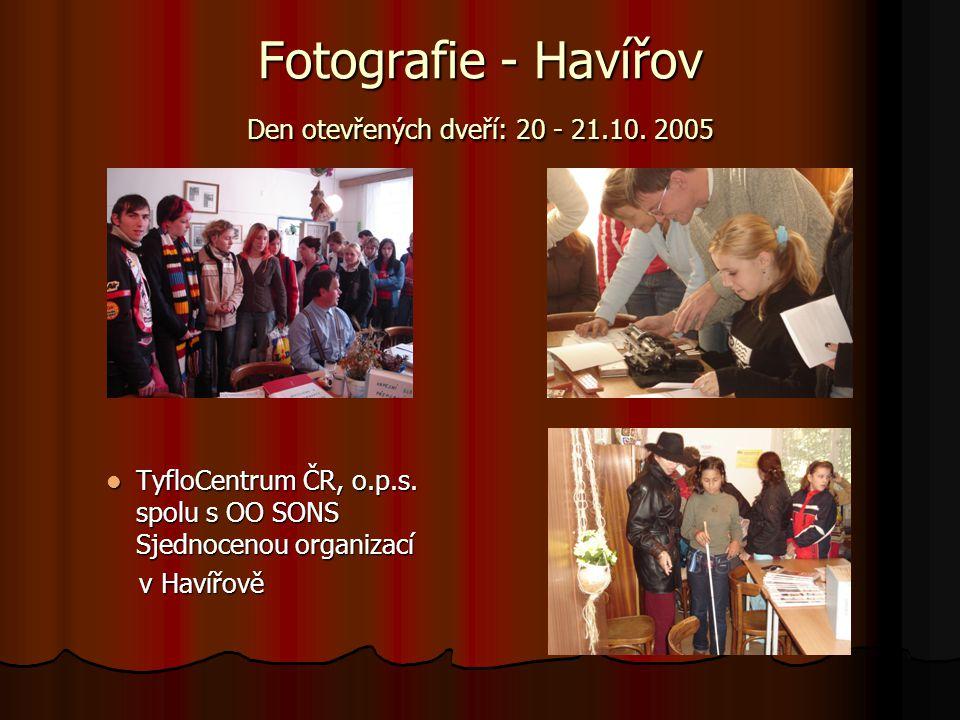 Fotografie - Havířov Den otevřených dveří: 20 - 21.10. 2005