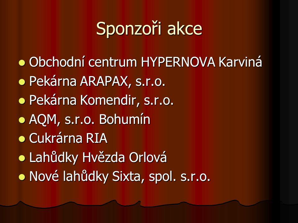 Sponzoři akce Obchodní centrum HYPERNOVA Karviná