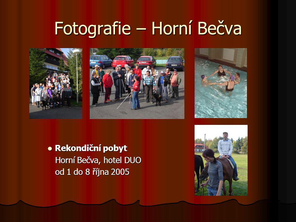 Fotografie – Horní Bečva