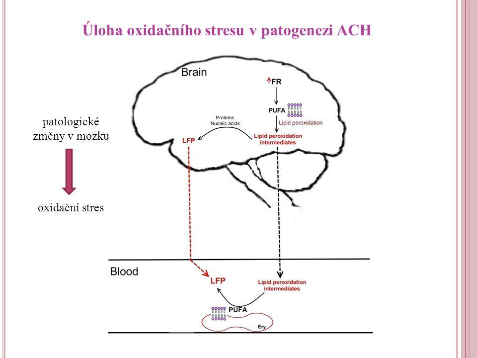 Úloha oxidačního stresu v patogenezi ACH