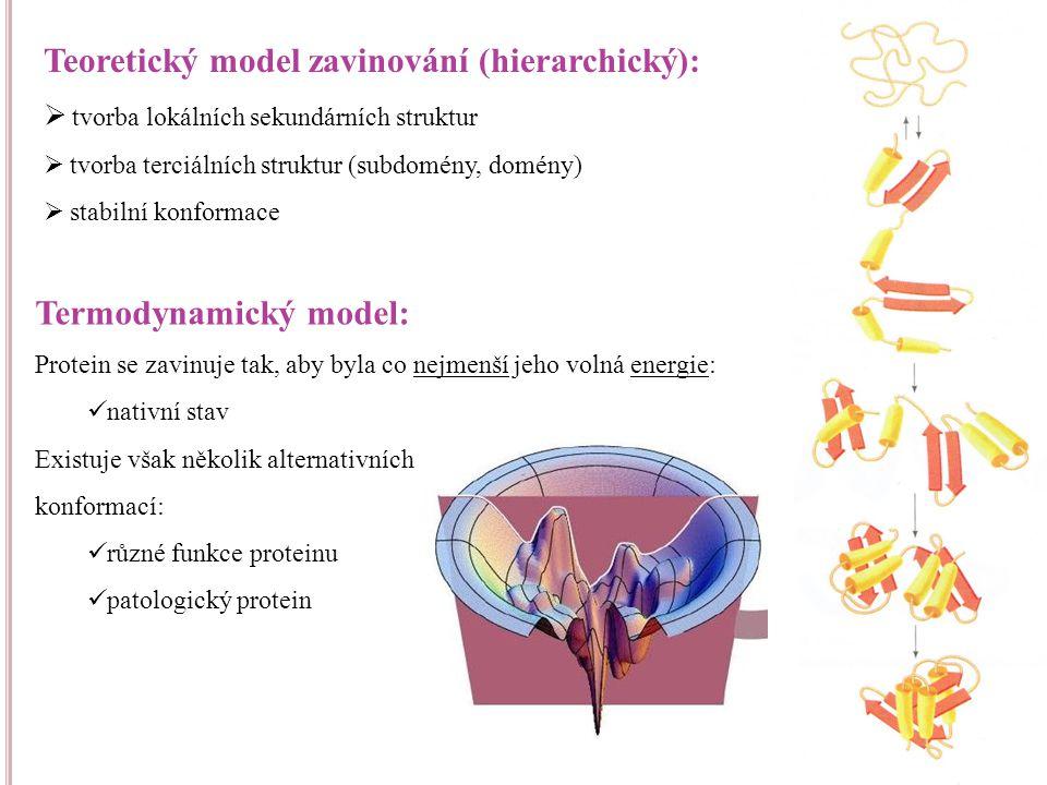 Teoretický model zavinování (hierarchický):
