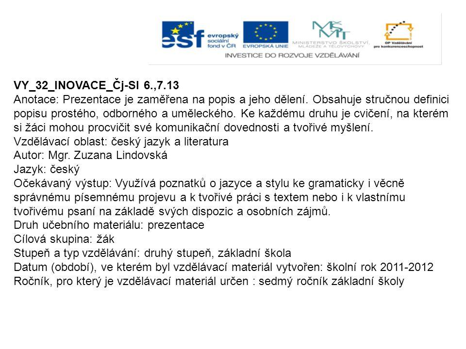 VY_32_INOVACE_Čj-Sl 6.,7.13
