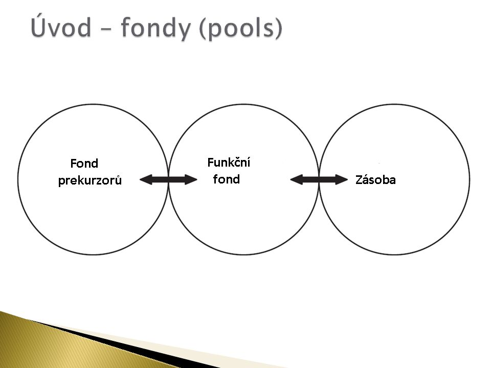 Úvod – fondy (pools)