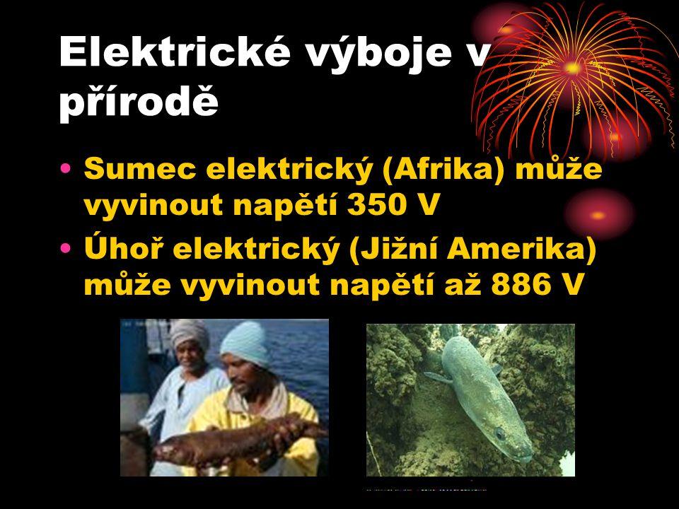 Elektrické výboje v přírodě