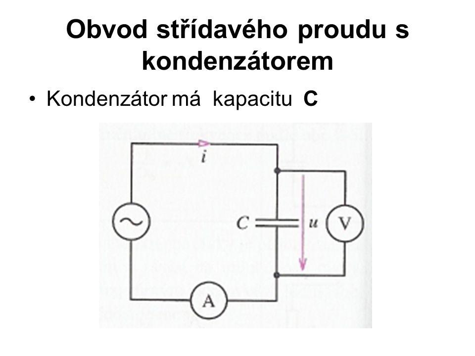 Obvod střídavého proudu s kondenzátorem