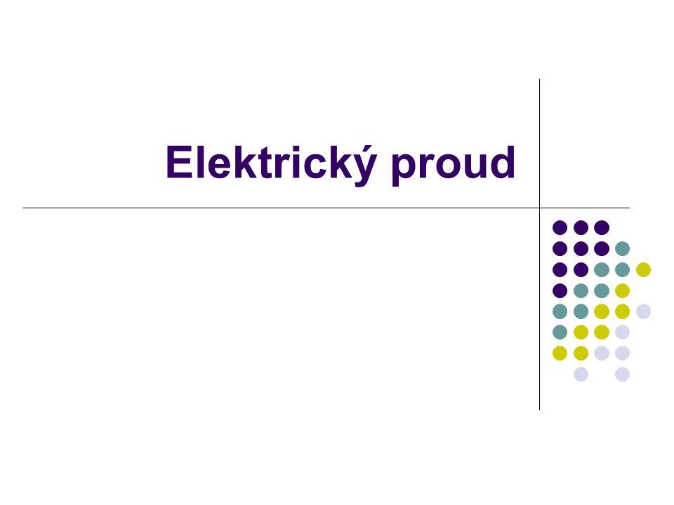 Elektrický proud