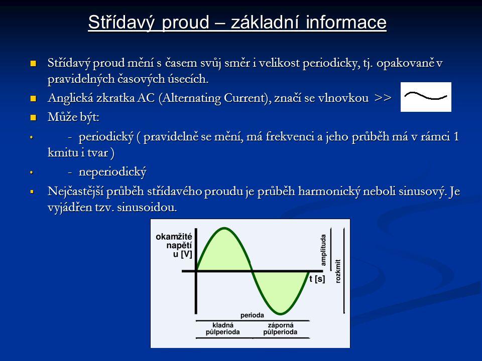 Střídavý proud – základní informace