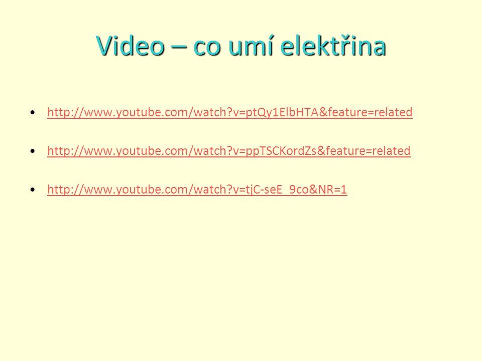 Video – co umí elektřina