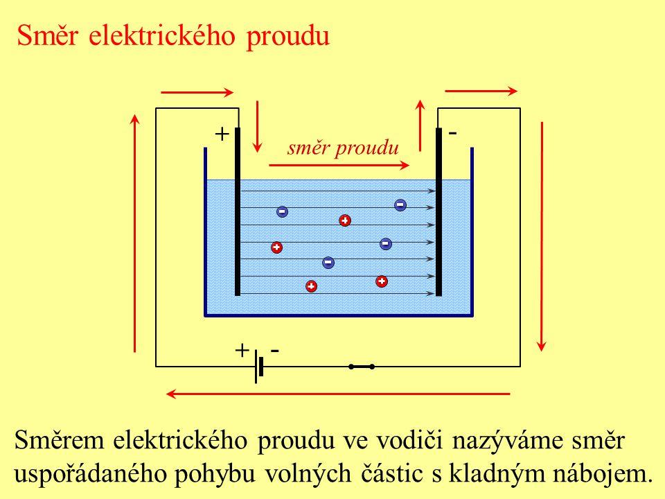 Směr elektrického proudu