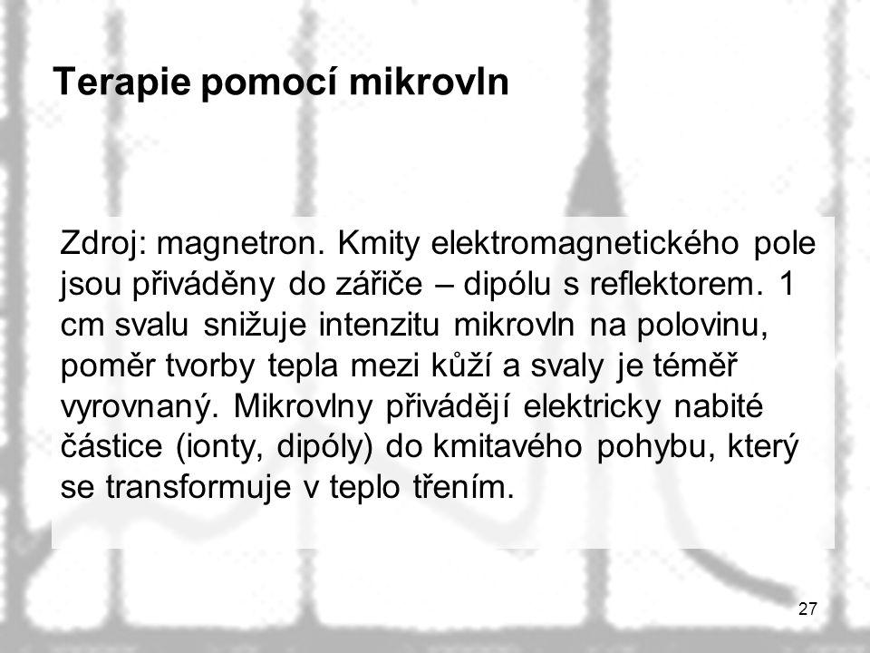 Terapie pomocí mikrovln