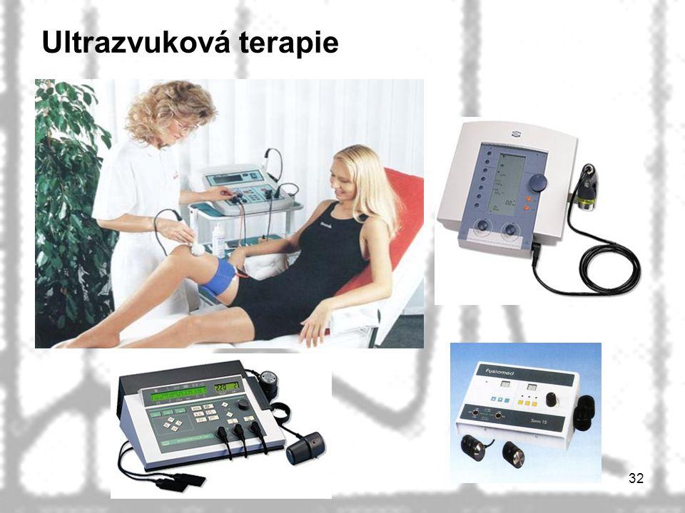 Ultrazvuková terapie