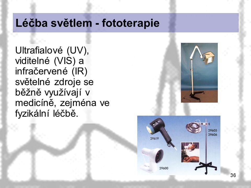 Léčba světlem - fototerapie