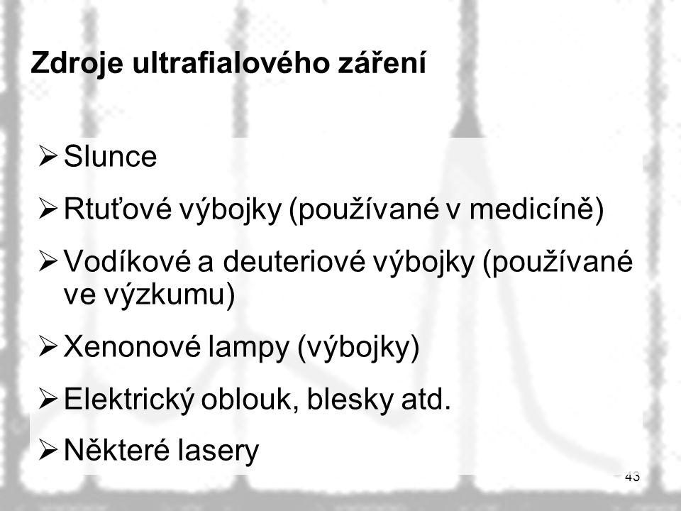 Zdroje ultrafialového záření