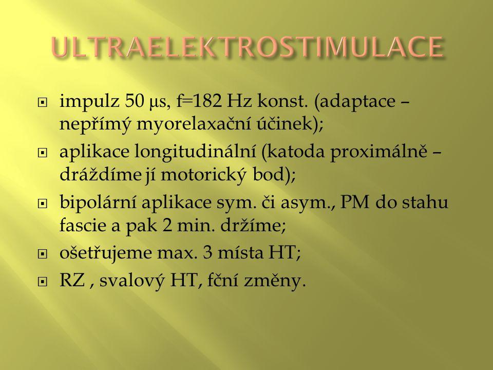 ULTRAELEKTROSTIMULACE