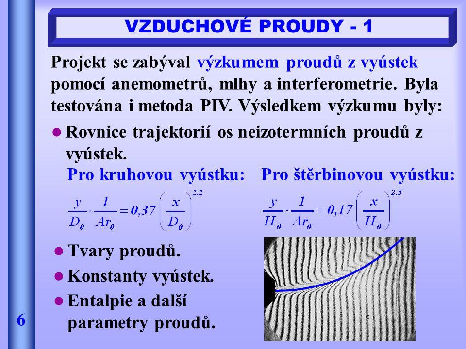 VZDUCHOVÉ PROUDY - 1