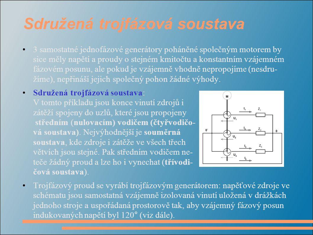 Sdružená trojfázová soustava