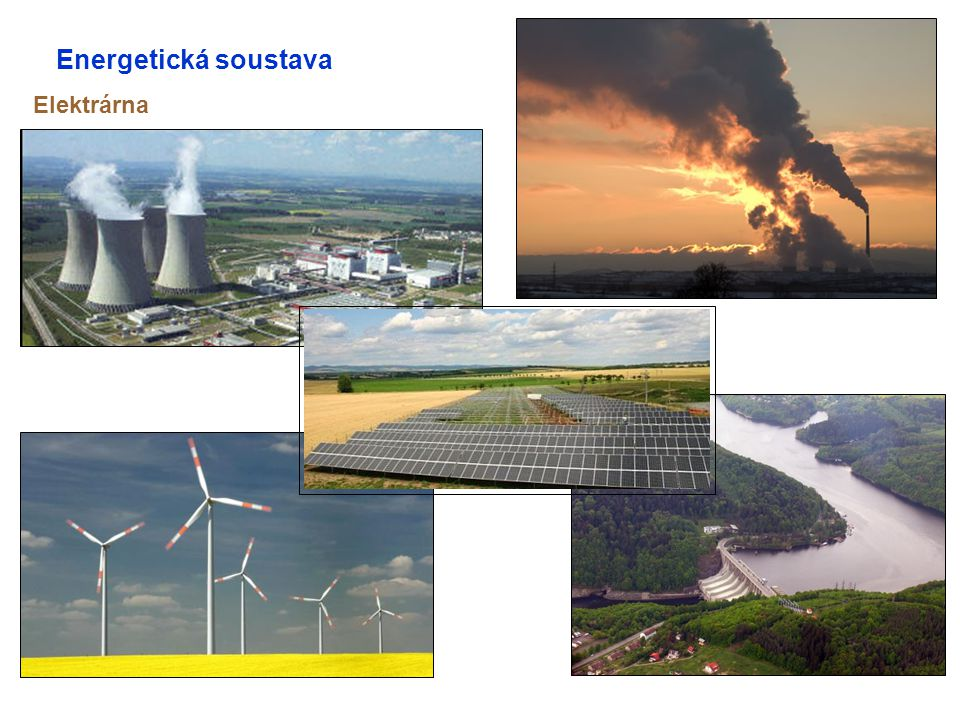 Energetická soustava Elektrárna