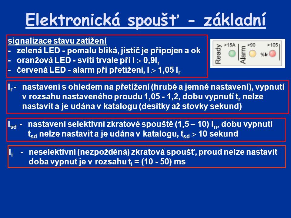 Elektronická spoušť - základní