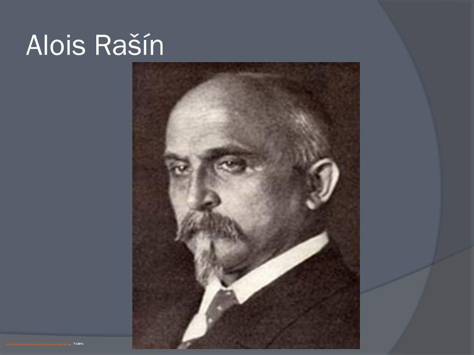 Alois Rašín http://cs.wikipedia.org/wiki/Alois_Ra%C5%A1%C3%ADn, 7.1.2014