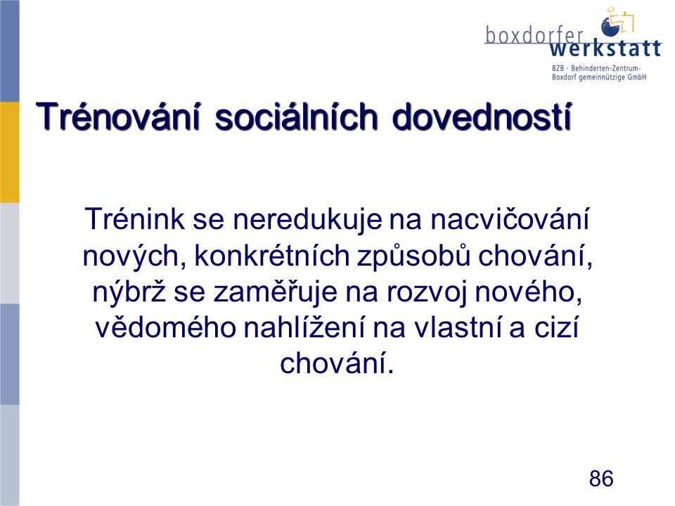 Trénování sociálních dovedností